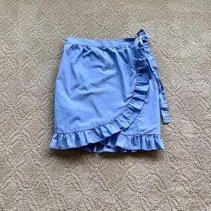 NWOT J. Crew Factory wrap skirt